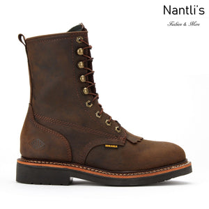 Botas de trabajo BA827 Crazy Brown Work Boots