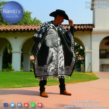 Load image into Gallery viewer, Jorongo Mexicano TM-73127 Mexican Poncho
