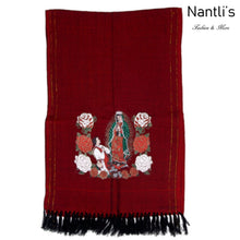 Load image into Gallery viewer, Rebozo Mexicano TM73421 Red Mexican Shawl