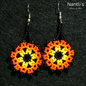 Aretes de Chaquira - TM-0818-07 Beaded Earrings