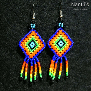 Aretes de Chaquira - TM-0818-11 Beaded Earrings