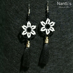 Aretes de Chaquira - TM-0818-12 Beaded Earrings