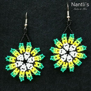 Aretes de Chaquira - TM-0818-24 Beaded Earrings