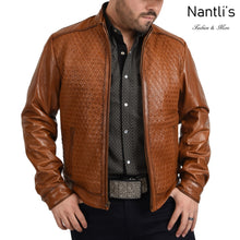 Load image into Gallery viewer, Chamarra de piel para Hombre TM-WD1820 Leather Jacket for Men