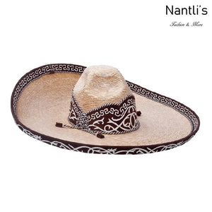 Sombrero Charro de paja para hombre TM71121 - Charro hat for Men
