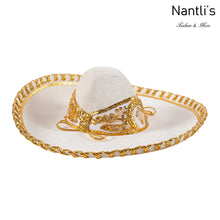 Load image into Gallery viewer, Sombrero Charro Nino beige oro