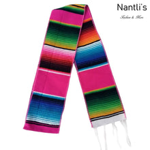 Load image into Gallery viewer, Estola-Bufanda Saltillo TM-73310 Pink Mexican Stole-Scarf