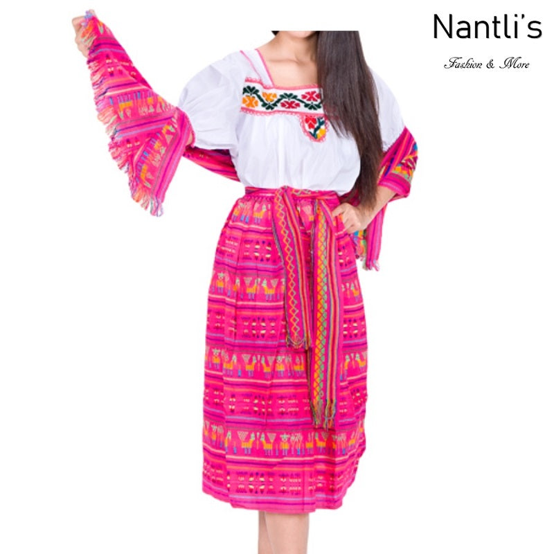 Vestido Tipico Indita de Niña TM74213 Fuchsia - Girls Dress