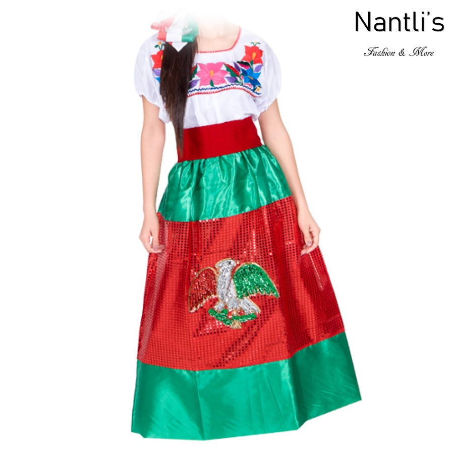Vestido China Poblana de Niña TM74126 - Girls Dress