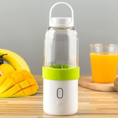 550ml 4400mAh Battery USB Charging 6 Blades Fruit Vegetable Juicer Bottle