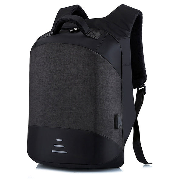 Leisure Anti-theft Travel Backpack with USB Charging Port