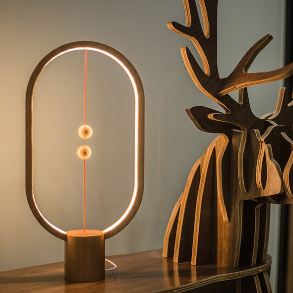 Creative Smart Balance Magnetic Switch LED Table Lamp