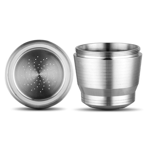 Stainless Steel Coffee Filter Filled Coffee Capsule Shell Recycled Filter