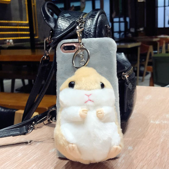 Adorable fluffy iPhone case