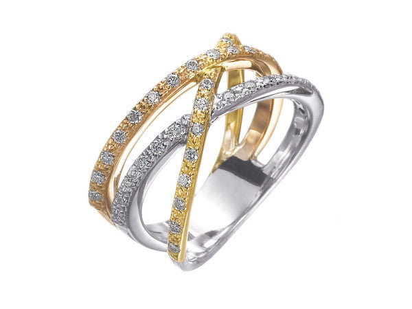 Alor Aloro Multi Color Diamond Ring