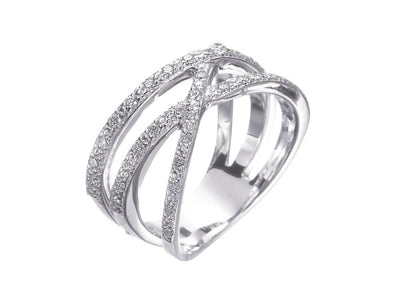 Alor Aloro White Gold Diamond Ring