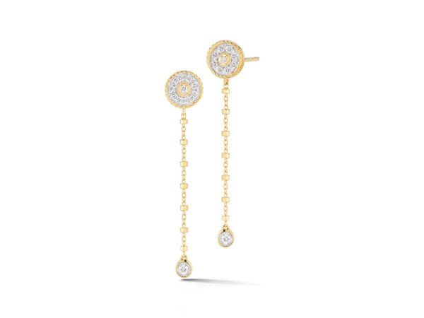 Alor Aloro Yellow Dangle Earrings