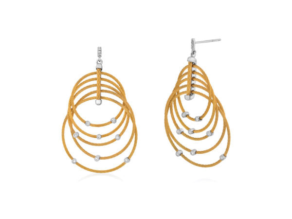 Alor Classique Yellow Dangle Earrings