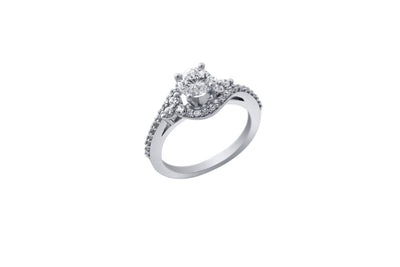 Ashoori & Co. Private Collection 14k Engagement Ring 109684B