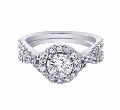 Ashoori & Co. Private Collection 14k Engagement Ring 53510B