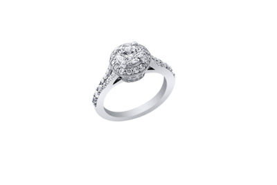 Ashoori & Co. Private Collection 14k Engagement Ring 53925A