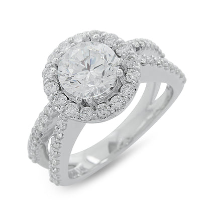 Ashoori & Co. Private Collection 14k Engagement Ring 62882H