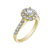 Ashoori & Co. Private Collection 14k Engagement Ring 63181GY