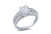 Ashoori & Co. Private Collection 14k Engagement Ring 67174A