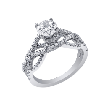 Ashoori & Co. Private Collection 14k Engagement Ring 78887G