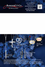 Silver Diamond Cross Holiday Catalog 16B