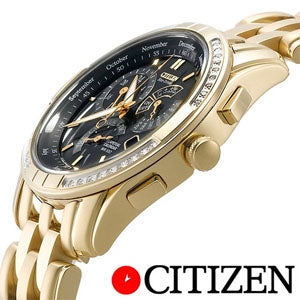 Citizen Mens ECO drive Style AT2225-03E