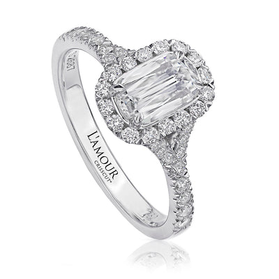 L'Amour Collection Diamond Engagement Ring - L103-100