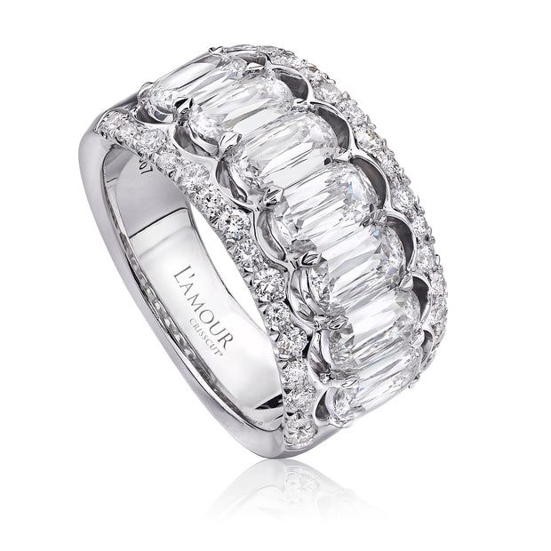 L'AMOUR CRISSCUT® DIAMOND ANNIVERSARY BAND - L131-7-225