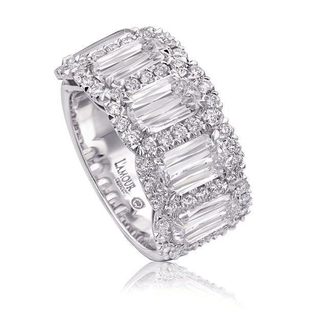 CRISSCUT L`AMOUR WEDDING BAND - L204-5-200