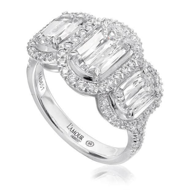 L'AMOUR CRISSCUT® DIAMOND ENGAGEMENT RING- L251-100