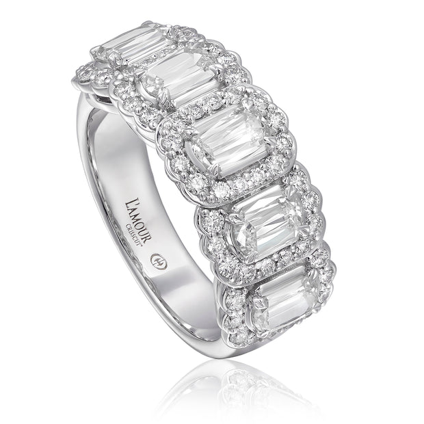 L'AMOUR CRISSCUT® DIAMOND BAND - L255-5-125