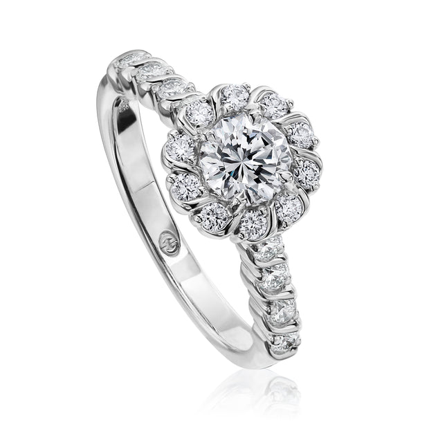 ENGAGEMENT RING SETTING - L540A-RD050