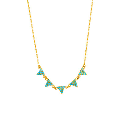 Ashoori & Co Private Collection  14k yellow gold  Necklace