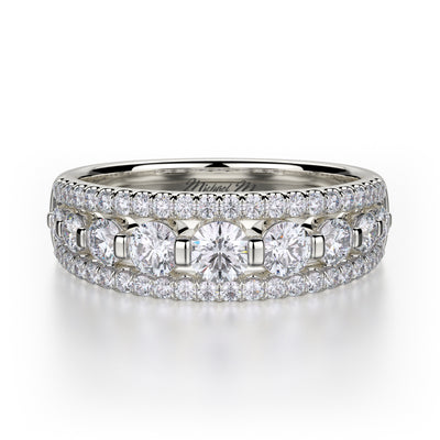 Michael M. R306B Wedding Band Platinum