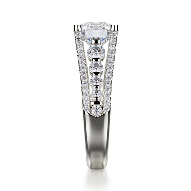 Michael M. R306S Engagement Ring Platinum