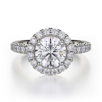 Michael M. R320 Engagement Ring Platinum
