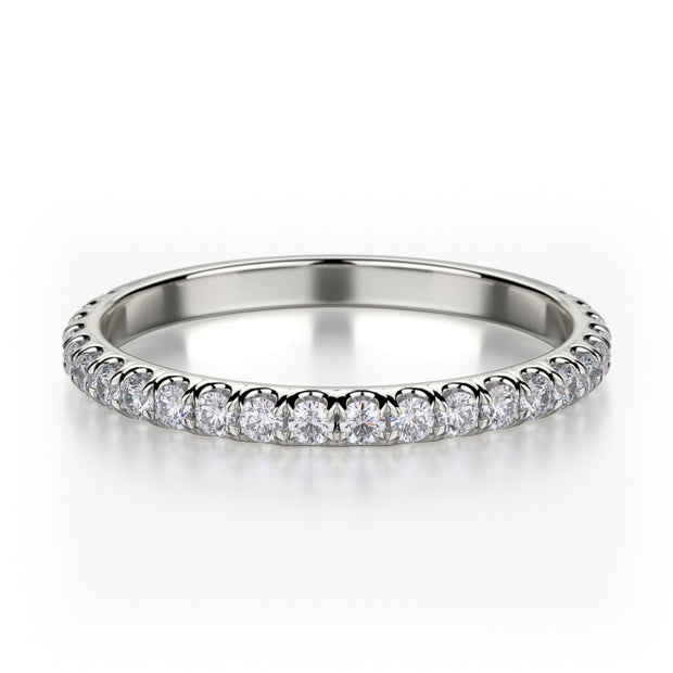 Michael M. R371B Wedding Band Platinum