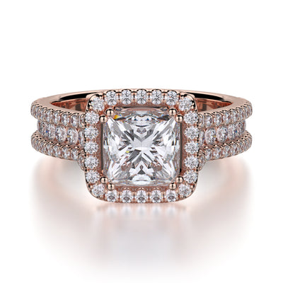 Michael M. R466 Engagement Ring