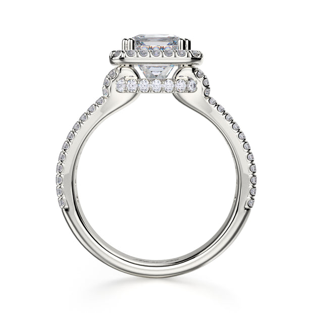 Michael M. R466 Engagement Ring Platinum