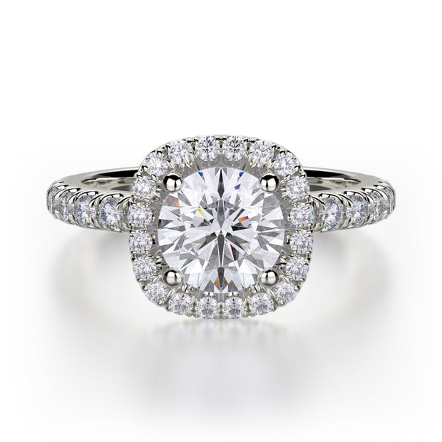 Michael M. R536 Engagement Ring Platinum