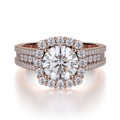 Michael M. R685 Engagement Ring Platinum