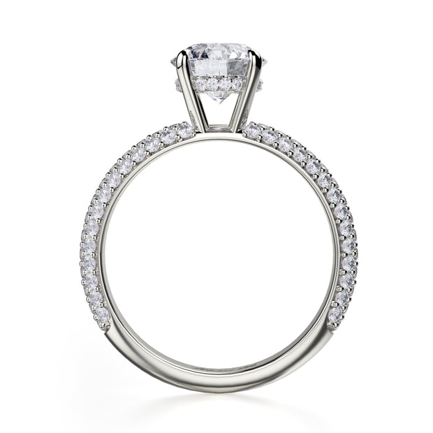Michael M. R699 Engagement Ring Platinum