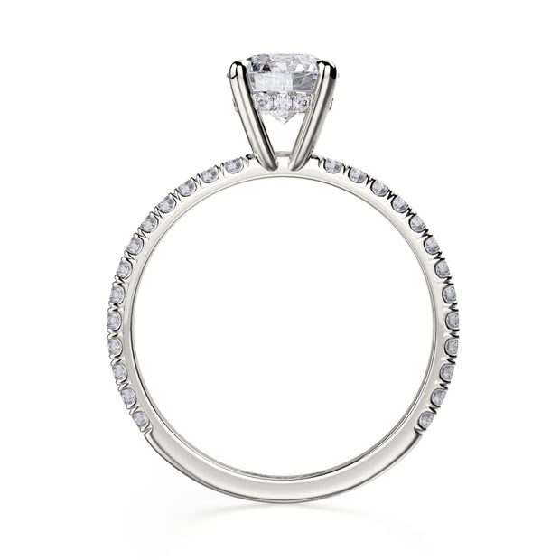 Michael M. R706 Engagement Ring Platinum