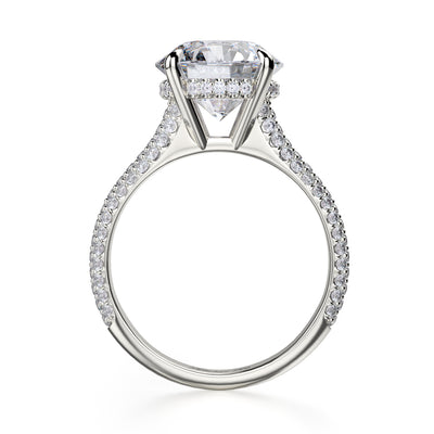 Michael M. R707 Engagement Ring Platinum