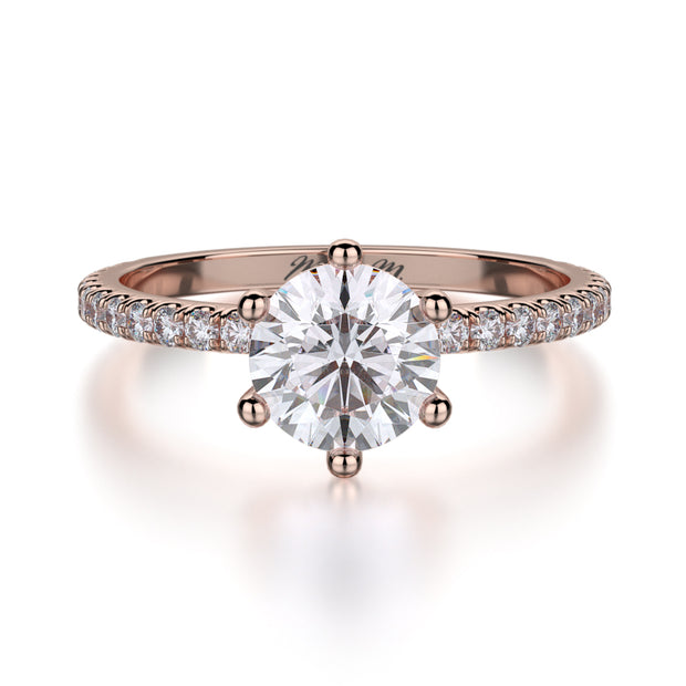 Michael M. R713 Engagement Ring